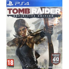 TOMB RAIDER DEFINITIVE EDITION PS4 FR NEW