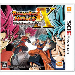 DRAGON BALL HEROES ULTIMATE MISSION X 3DS JAPONAIS OCCASION