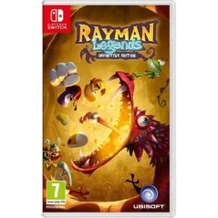 RAYMAN LEGENDS DEFINITIVE EDITION SWITCH UK NEW