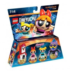 FIGURINE LEGO DIMENSION POWERPUFF GIRLS PACK EQUIPE EURO NEW