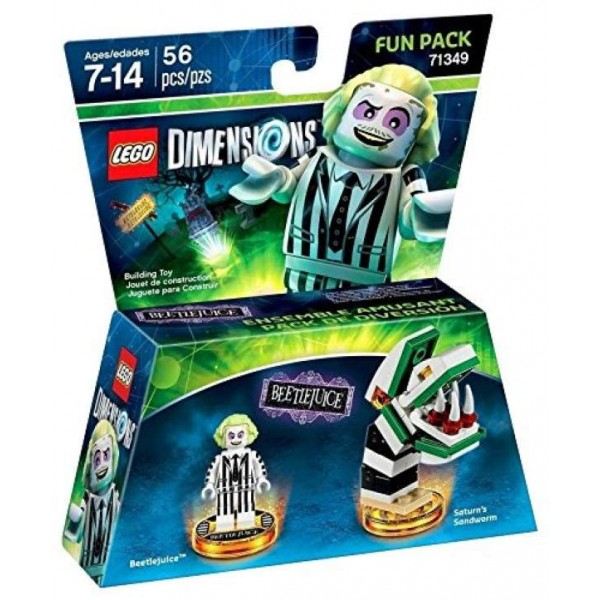 FIGURINE LEGO DIMENSION BEETLEJUICE PACK HERO EURO NEW