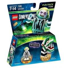 FIGURINE LEGO DIMENSION BEETLEJUICE PACK HERO EURO NEW