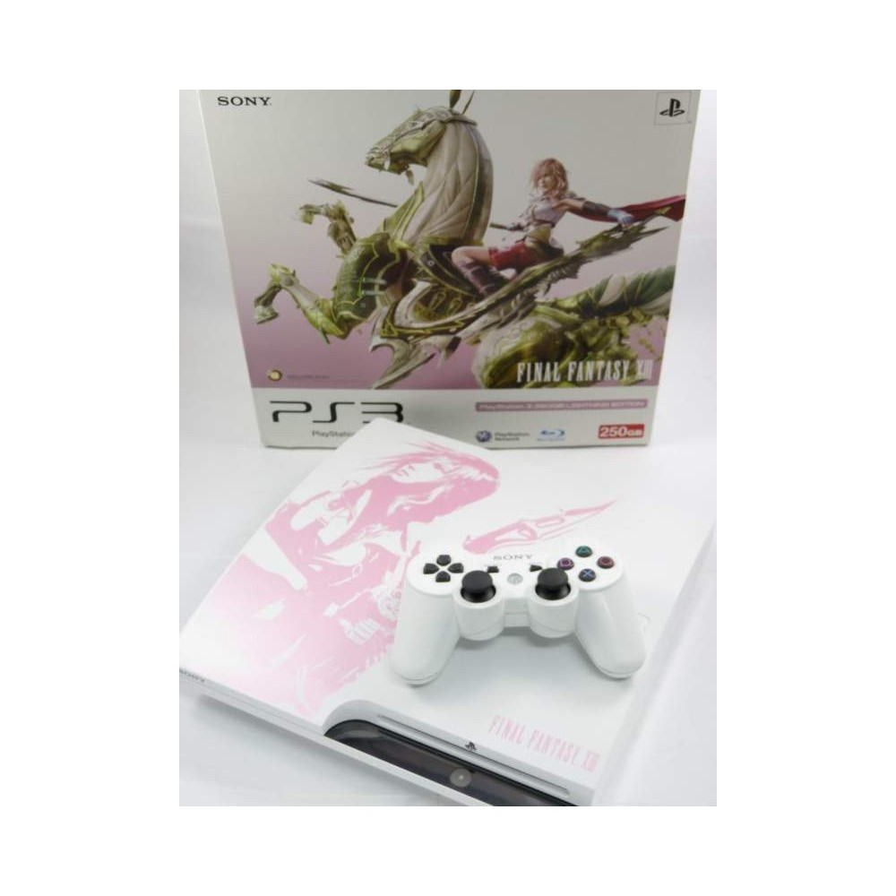 CONSOLE PS3 SLIM 250 GB FINAL FANTASY XIII LIGHTING EDITION NTSC-ASIAN  OCCASION