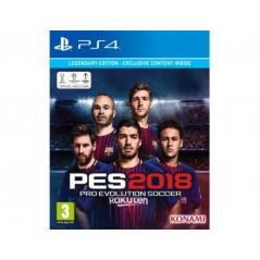 PRO EVOLUTION SOCCER 2018 LEGEND PS4 UK NEW