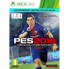 PRO EVOLUTION SOCCER 2018 XBOX 360 UK NEW