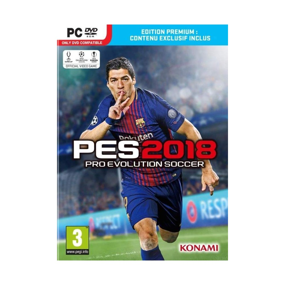 PRO EVOLUTION SOCCER 2018 PC FR NEW