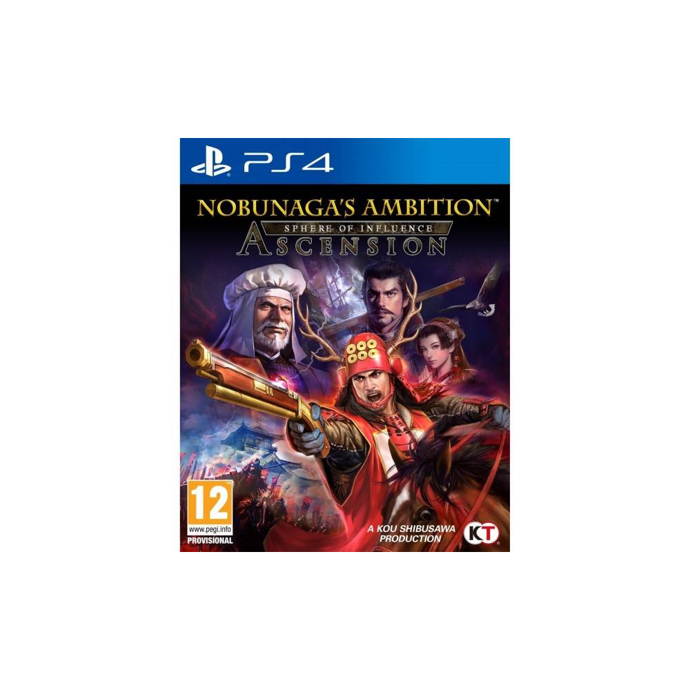 NOBUNAGA S AMBITION SPHERE OF INFLUENCE ASCENSION PS4 FR OCCASION
