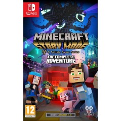 MINECRAFT STORY MODE L AVENTURE COMPLETE SWITCH FR OCCASION