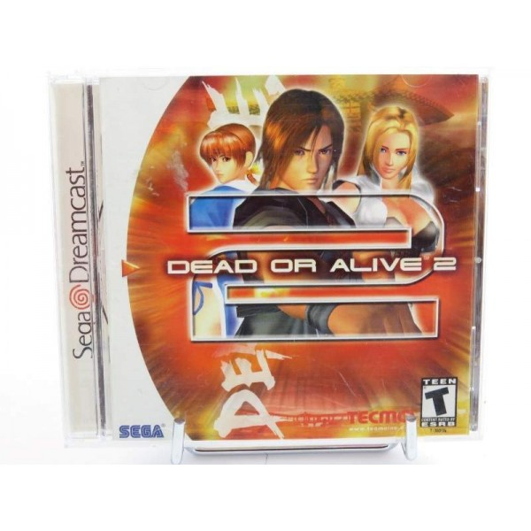 DEAD OR ALIVE 2 DREAMCAST NTSC-USA OCCASION