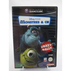 MONSTRES & CIE CRAZY BALLS GAMECUBE PAL-FRA OCCASION