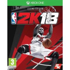 NBA 2K18 LEGEND EDITION XBOX ONE FR NEW