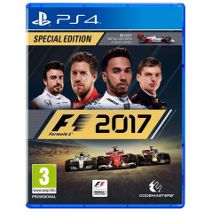 F1 2017 SPECAL EDITION PS4 UK NEW