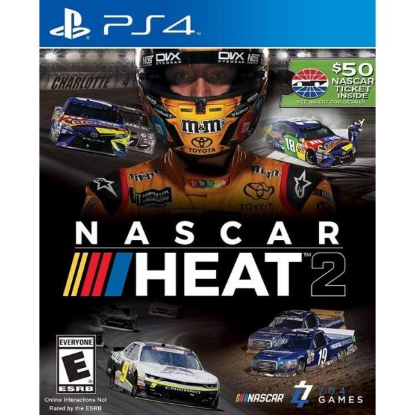 NASCAR HEAT 2 PS4 US NEW
