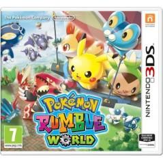 POKEMON RUMBLE WORLD 3DS UK NEW