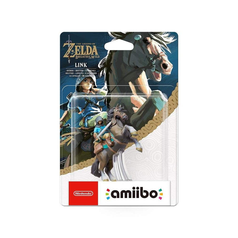 AMIIBO LEGEND OF ZELDA LINK RIDER WIIU FRANCAIS NEW