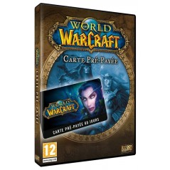 WORLD OF WARCRAFT CARTE PREPAYEE