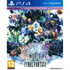 WORLD OF FINAL FANTASY LIMITED EDITION PS4 UK OCCASION