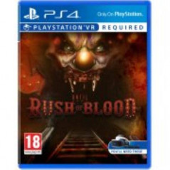 UNTIL DAWN RUSH OF BLOOD PS4 FR OCCASION