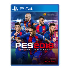 PRO EVOLUTION SOCCER 2018 PS4 FR OCCASION