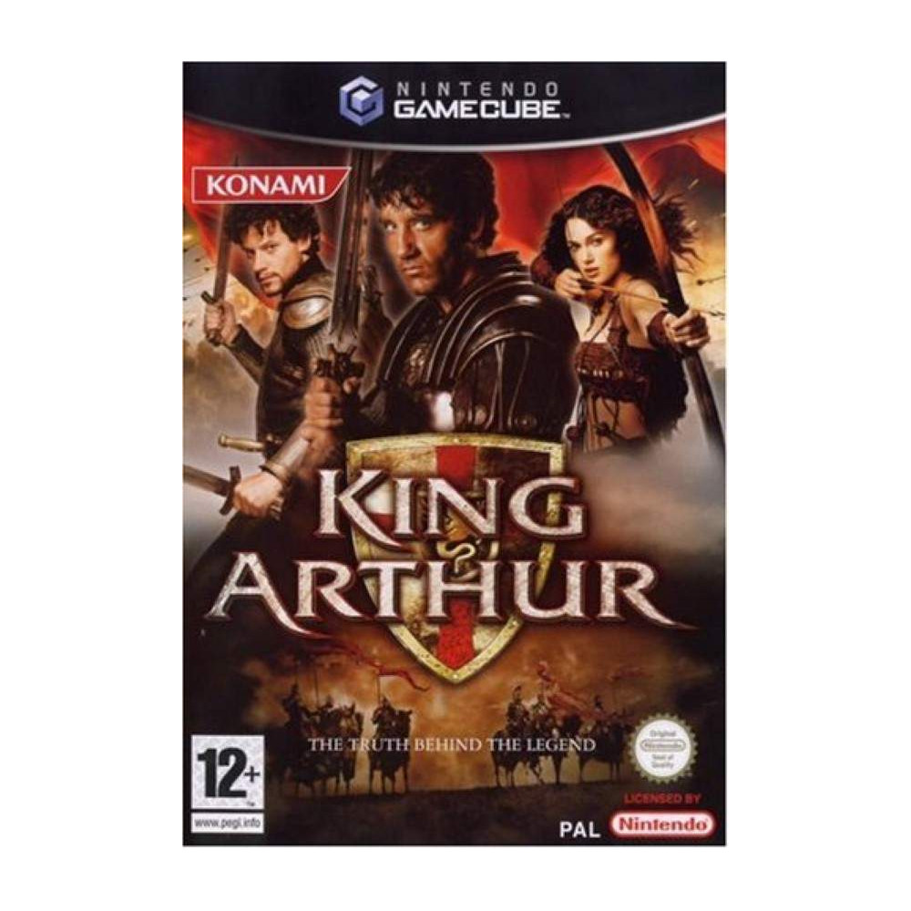 KING ARTHUR: THE TRUTH BEHIND THE LEGEND GAMECUBE PAL-FR OCCASION