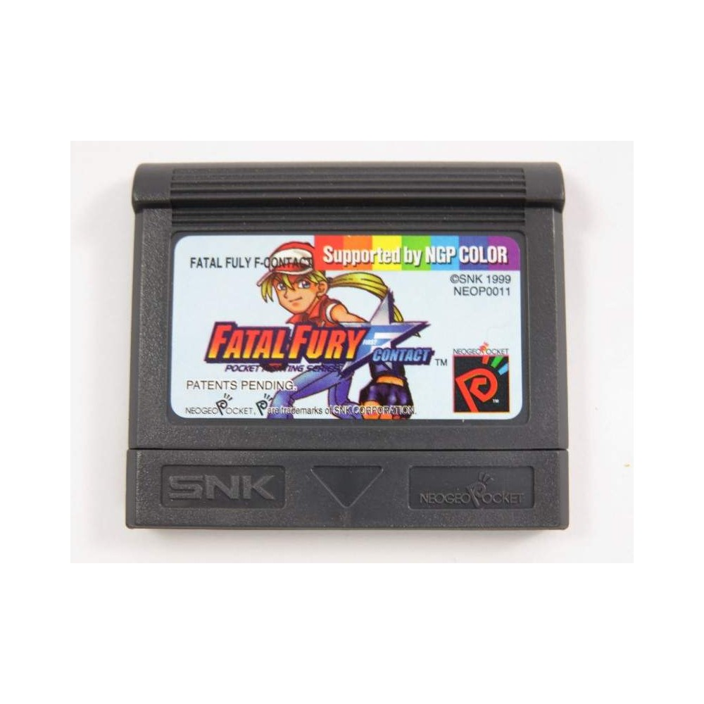 FATAL FURY FIRST CONTACT NEO GEO POCKET USA LOOSE