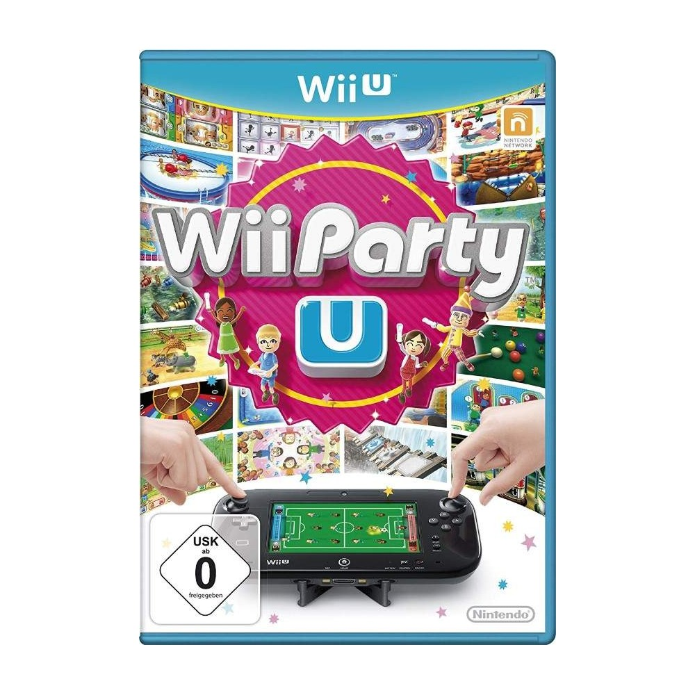 WII PARTY U WIIU PAL-EURO OCCASION