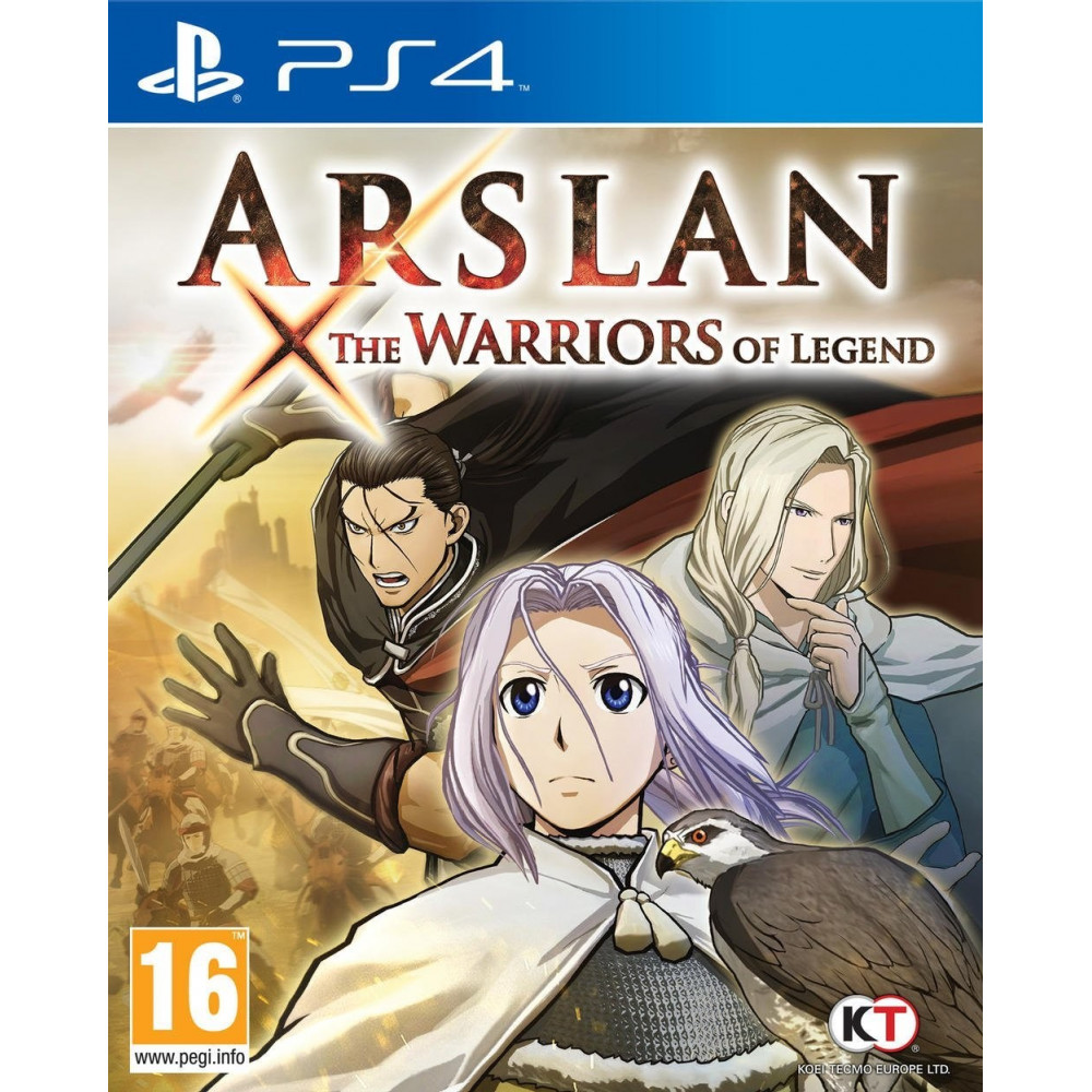 ARSLAN THE WARRIORS OF LEGEND PS4 FR OCCASION