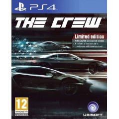 THE CREW LIMITED EDITION PS4 FR OCCASION