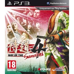 WAY OF THE SAMURAI 4 PS3 FR OCCASION