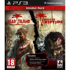 DEAD ISLAND DOUBLE PACK PS3 FR OCCASION