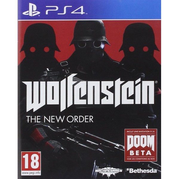 WOLFENSTEIN THE NEW ORDER PS4 FR OCCASION