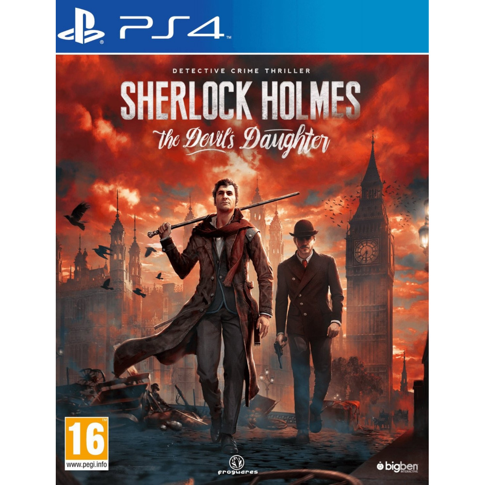 SHERLOCK HOLMES THE DEVIL S DAUGHTER PS4 FR OCCASION