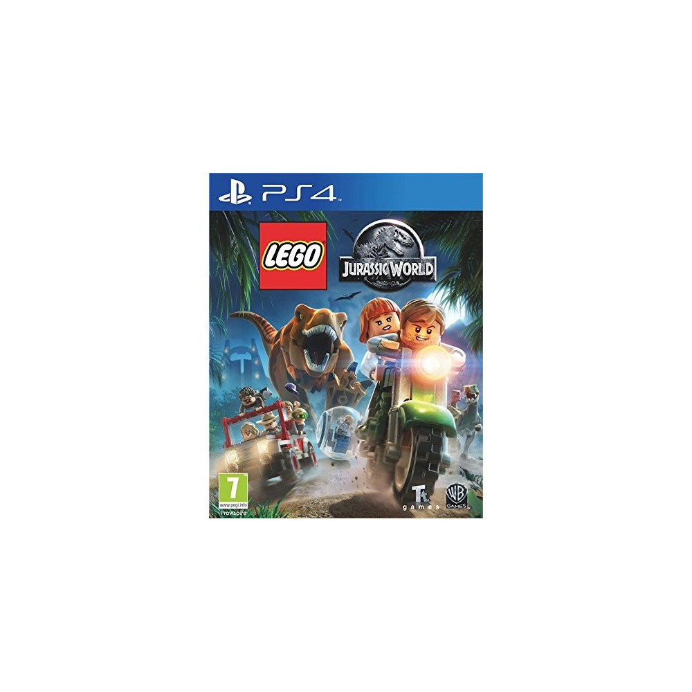 LEGO JURASSIC WORLD PS4 FR OCCASION