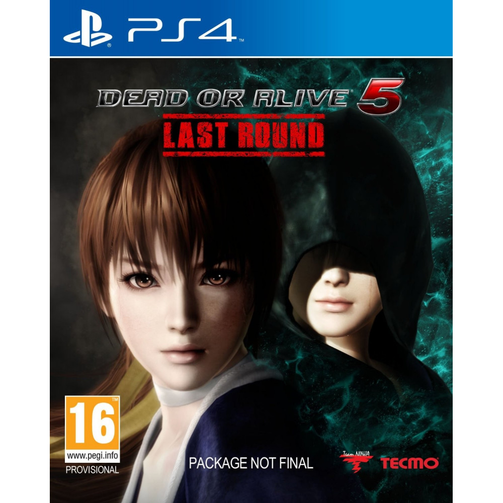 DEAD OR ALIVE 5 LAST ROUND PS4 UK OCCASION
