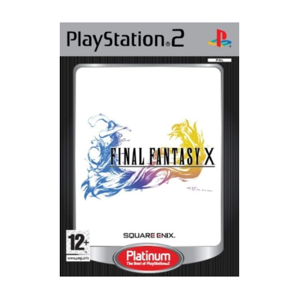 FINAL FANTASY X PLATINUM PS2 PAL-FR OCCASION