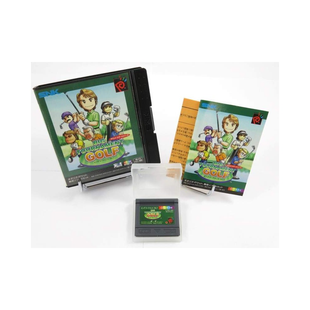 BIG TOURNAMENT GOLF NEO GEO POCKET JPN OCCASION