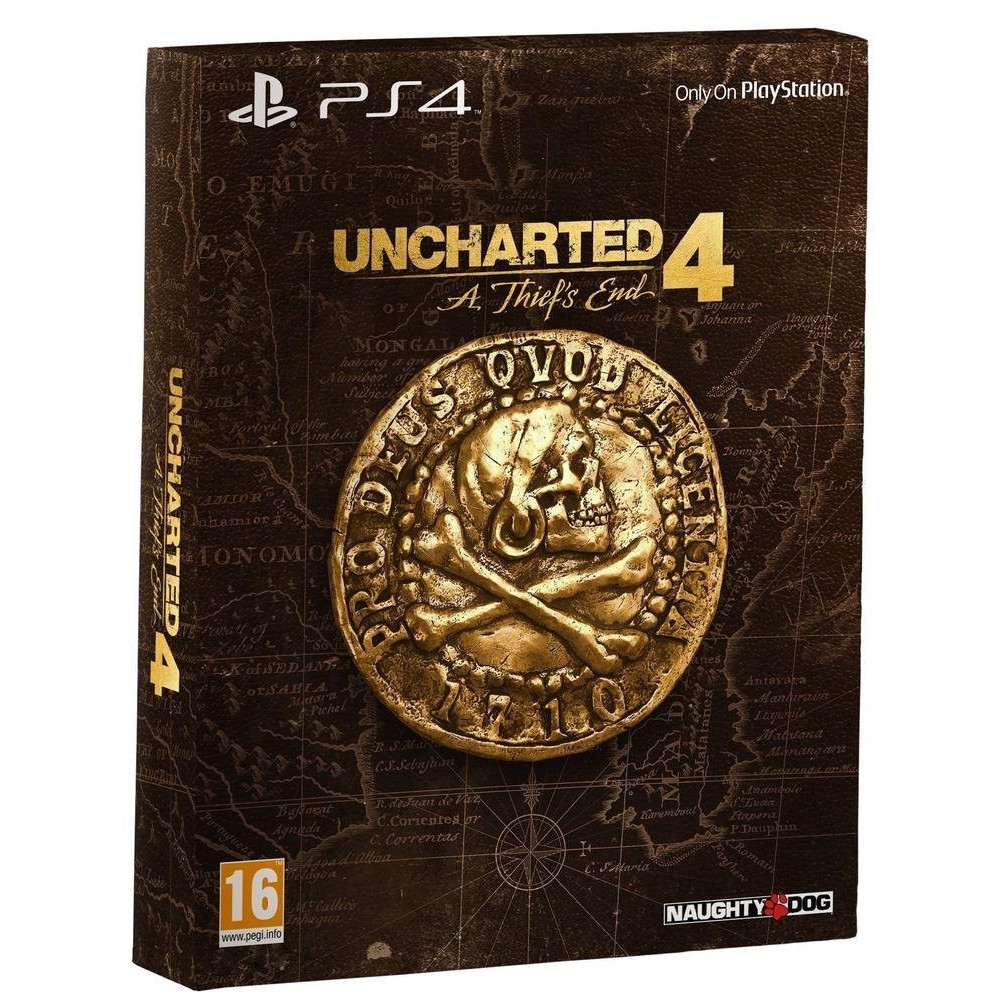 UNCHARTED 4 SPECIAL EDITION PS4 UK OCCASION