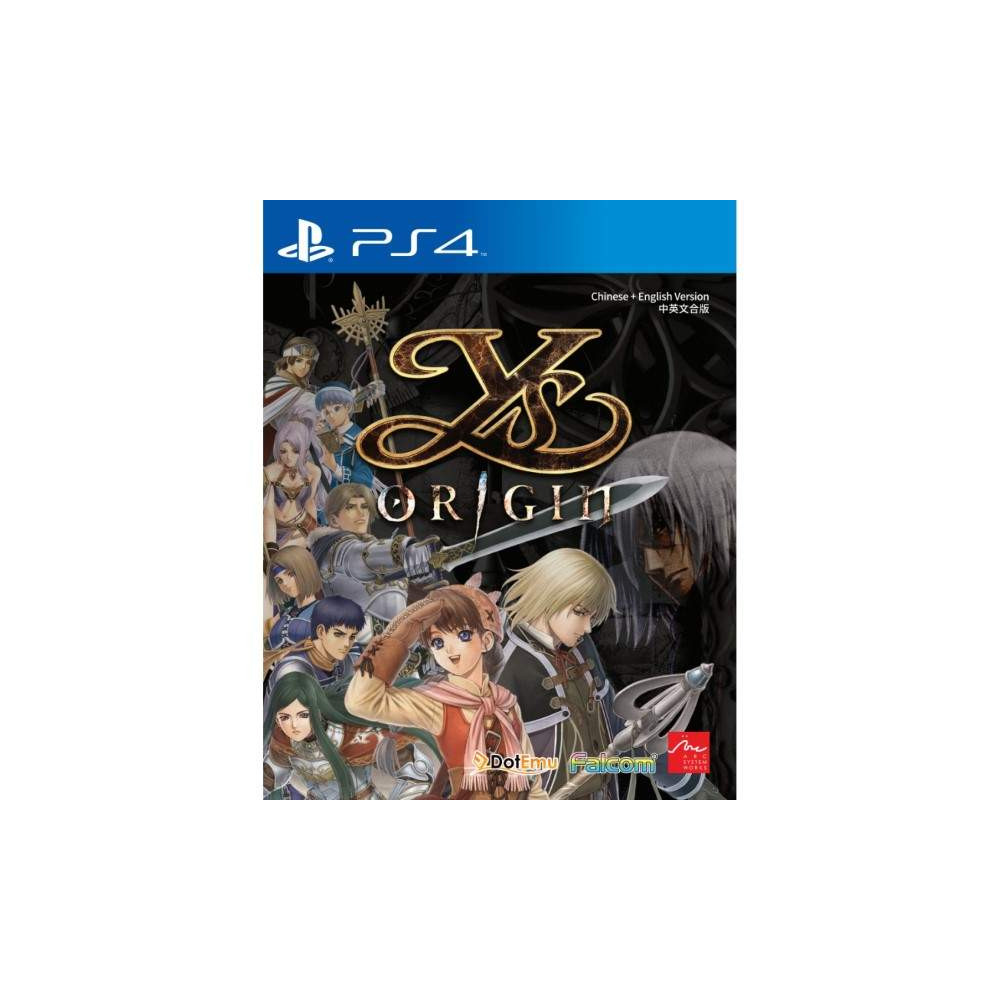 YS ORIGIN PS4 ASIAN NEW