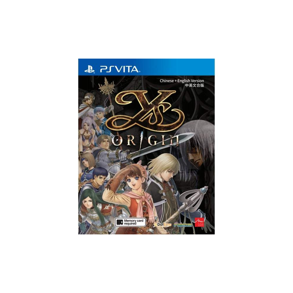 YS ORIGIN PSVITA ASIAN NEW