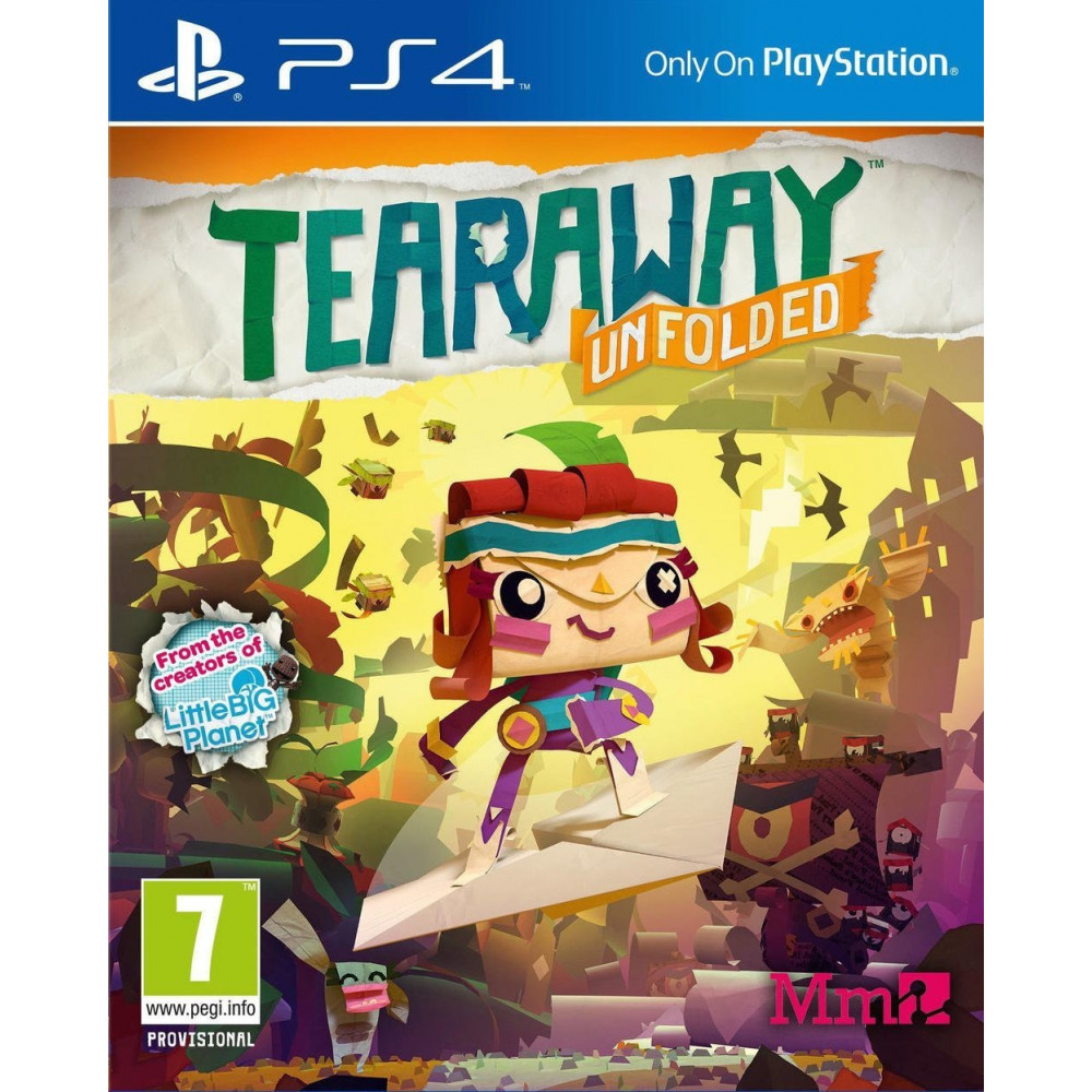 TEARAWAY UNFOLDED PS4 UK NEW