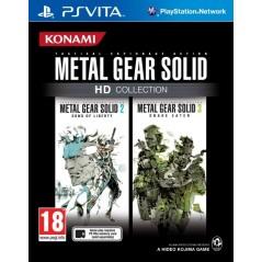 METAL GEAR SOLID HD COLLECTION PSVITA UK NEW