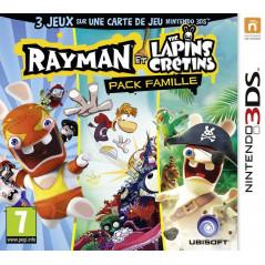 RAYMAN ET LES LAPINS CRETINS PACK FAMILIAL 3DS PSL-FR OCCASION