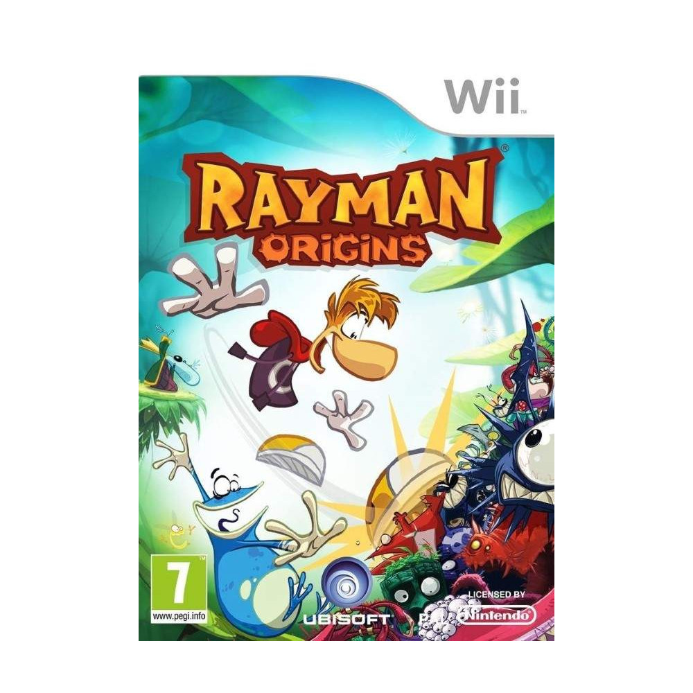 RAYMAN ORIGINS WII PAL-FRA OCCASION