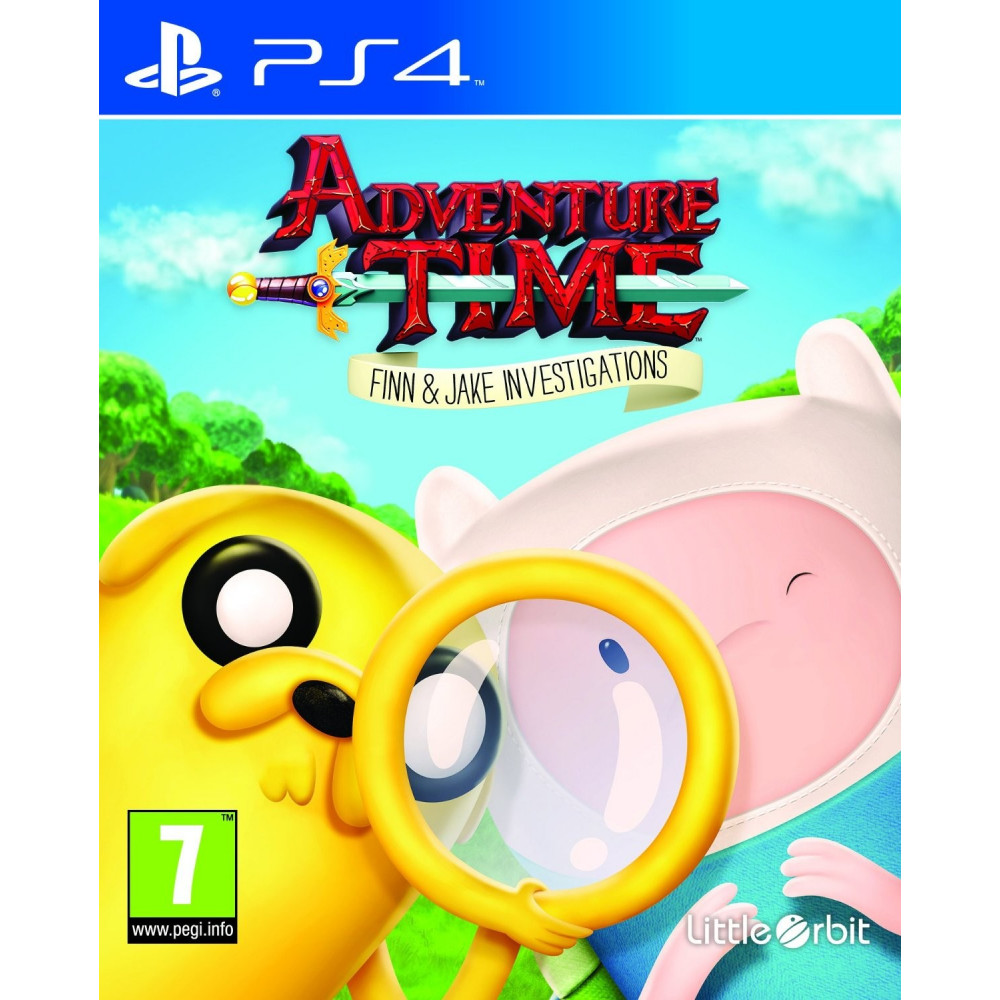 ADVENTURE TIME FINN AND JAKE INVESTIGATIONS PS4 UK NEW