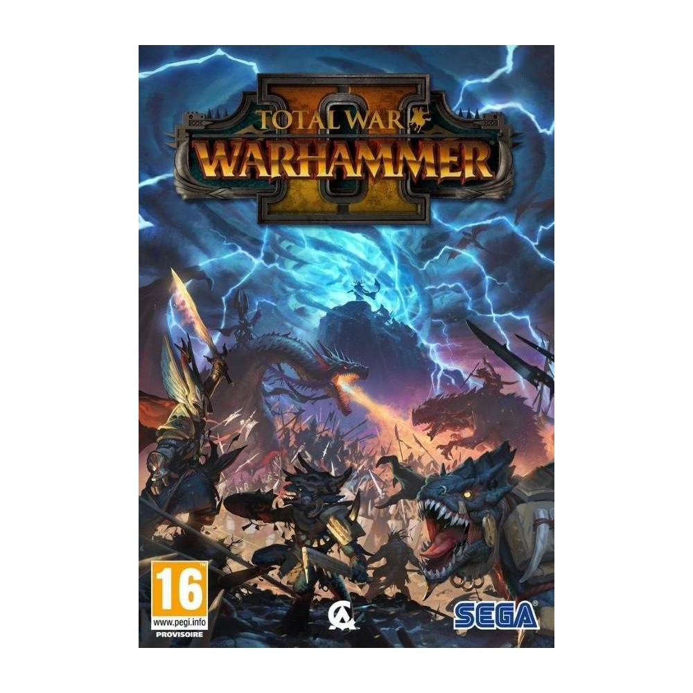 TOTAL WAR WARHAMMER 2 PC FR NEW