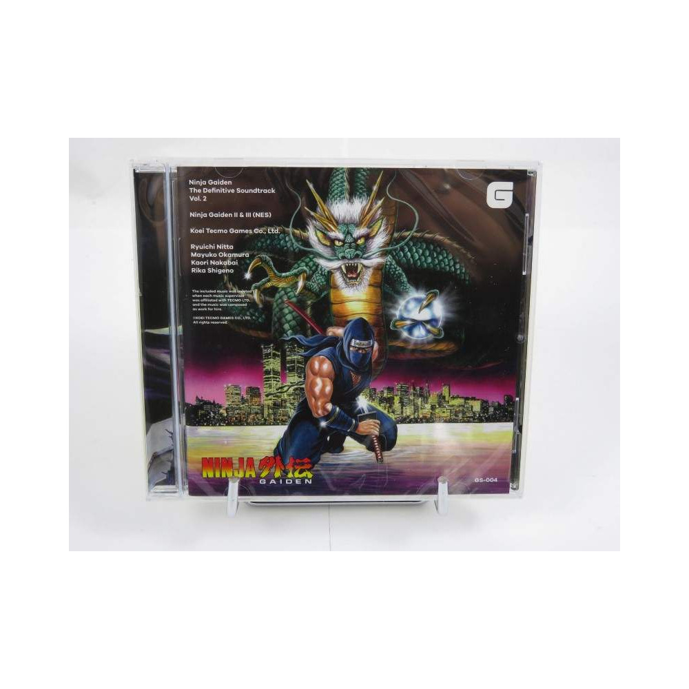 CD NINJA GAIDEN THE DEFINITIVE SOUNDTRACK VOL.2 NEW
