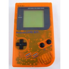 CONSOLE GAME BOY AVEC COQUE DE REMPLACEMENT ORANGE OCCASION