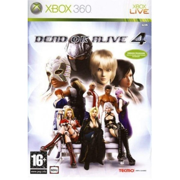 DEAD OR ALIVE 4 XBOX 360 PAL-FR OCCASION