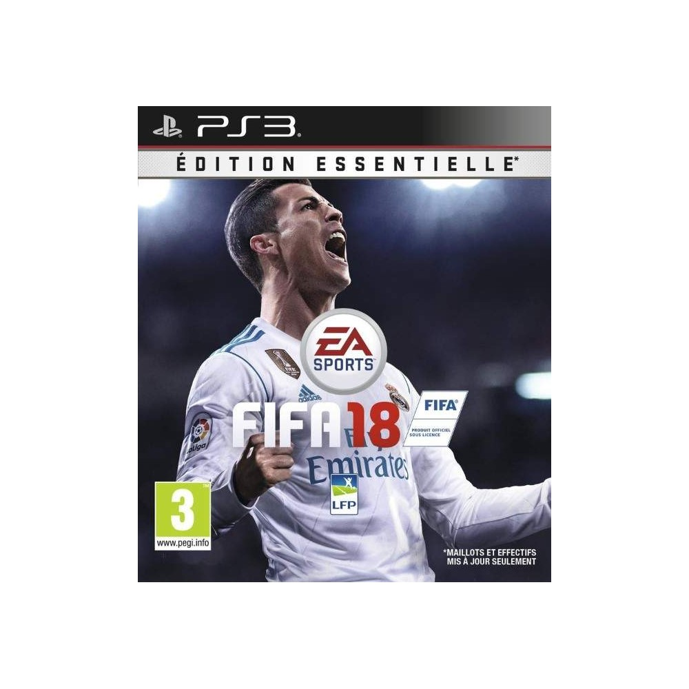 FIFA 18 LEGACY EDITION PS3 EURO FR NEW