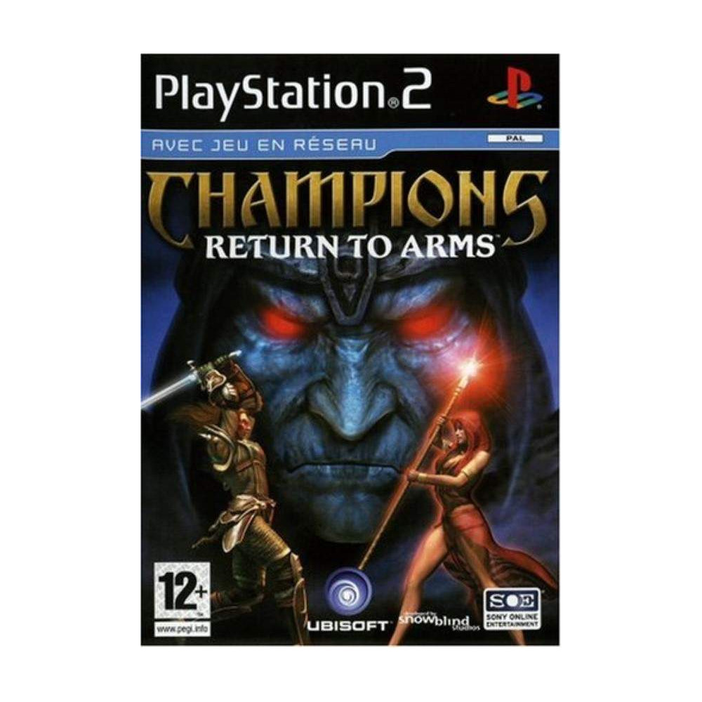 CHAMPIONS RETURN TO ARMS PS2 PAL-FR OCCASION